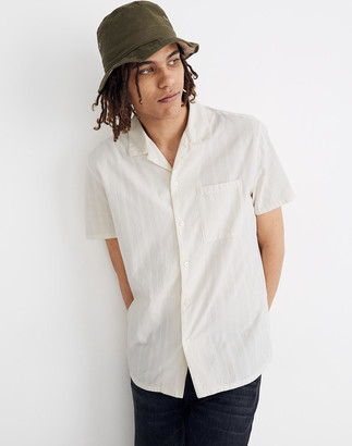 Madewell Easy Camp Shirt in Textured Stripe