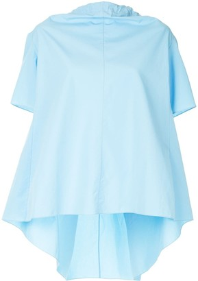 Marni Bow-Tied Short Sleeve Blouse
