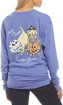 Lauren James Halloween Puppies Long-Sleeve Tee