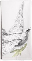 Montgomery Street Designs Montgomery Street Dove with Olive Branch Cotton Flour Sack Dish Towel