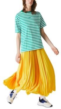 Lacoste Cotton Striped T-Shirt