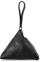 Jil Sander Textured-Leather Clutch