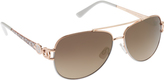 Rocawear Women's R567 Aviator Sunglasses