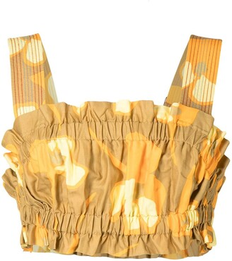 Lee Mathews Wren cropped bodice vest