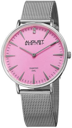 August Steiner Women's Casual Diamond Watch