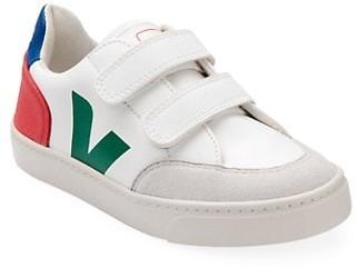 Veja Baby's & Little Kid's V-Logo Leather Grip-Tape Sneakers
