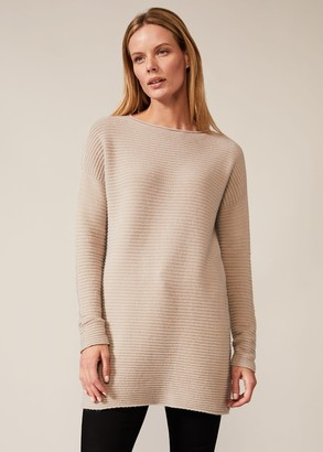 Phase Eight Rachel Ripple Knit Tunic
