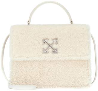 Off-White Off White Jitney 2.8 Furry shearling tote