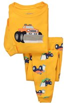 Dreamaxhp Truck Sleepwear Little Boys Cotton Pajama Set T Shirt & Pant