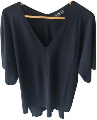 Salvatore Ferragamo Black Cashmere Top for Women