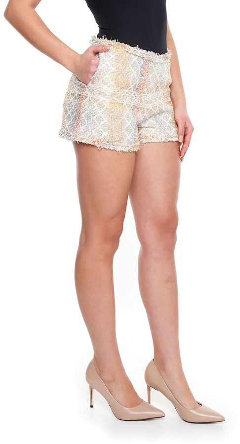 Edward Achour Tweed Shorts