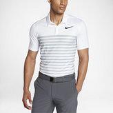 Nike Dry Heather Stripe Men's Standard Fit Golf Polo