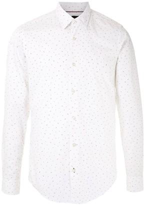 HUGO BOSS Dot Pattern Shirt
