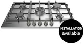 Indesit Aria THP751WIXI 75cm Built-in Gas Hob - Stainless Steel