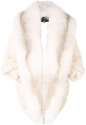 Cara Mila Marilyn Fox & Mink Coat