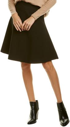Three Dots Fit & Flare Skirt