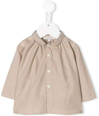 Caramel Icarus rounded-collar shirt