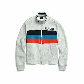 Tommy Hilfiger Men's Adaptive Seated Fit Sweatshirt with Velcro Brand Closure