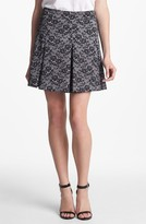 Collective Concepts Lace Print Skirt