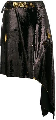 Marques Almeida Sequin Embellished Skirt