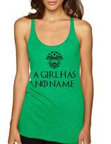 Allntrends Women's Tank Top A Girl Has No Name Cool Top (S, )