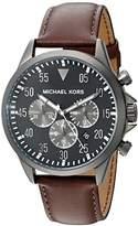 Michael Kors Men's Gage Brown Watch MK8536