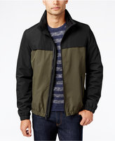 Nautica Two-Tone Water-Resistant Bomber Jacket