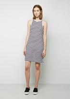 Alexander Wang Striped Rayon-Linen Dress