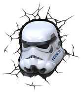 3D Light FX Star Wars 3D Wall Nightlight - Storm Trooper