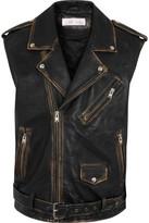 IRO Leather Gilet