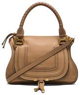 Chloé Small Marcie Grained Leather Satchel