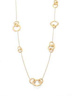 Marco Bicego Jaipur Link 18K Yellow Gold Station Necklace