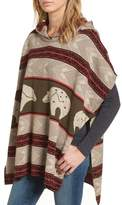 Pendleton Women's Knit Hooded Poncho