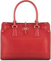 Salvatore Ferragamo Briana Small Tote Bag, Red