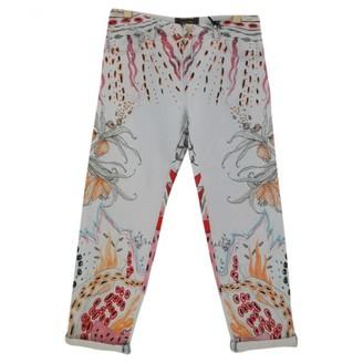 Roberto Cavalli Multicolour Cotton Jeans for Women