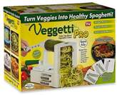 As Seen on TV Veggetti® Pro Tabletop Spiralizer Vegetable Cutter