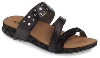 Romika Firschi 62 Studded Strap Slide Sandal
