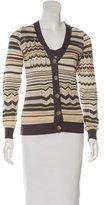 M Missoni Striped Cardigan Set