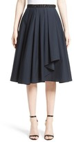 Jason Wu Women's Ruffle Cotton A-Line Skirt