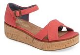 Toms Women's Harper Platform Sandal