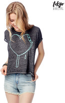 Aeropostale Tokyo Darling Popsicle Heart Graphic T