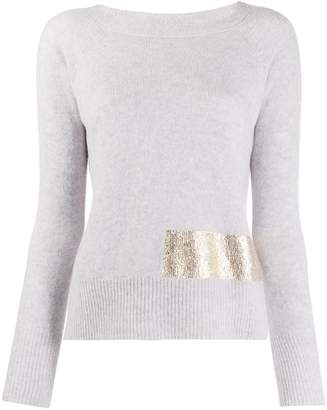 Pinko Giappone knitted top
