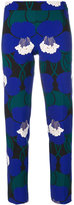 P.A.R.O.S.H. skinny floral print trousers - women - Polyester/Spandex/Elastane - S