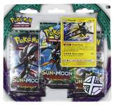 Pokemon 2017 Trading Card Sun & Moon Series 2 3pk featuring Vikavolt