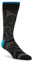 Bugatchi Men's Pattern Socks