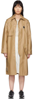 A-Cold-Wall* Beige Design Lined Mac Trench Coat