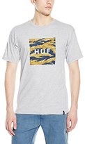 HUF Men's Tiger Camo Box Logo T-Shirt