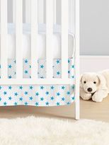 Aden Anais Star-Print Cotton Muslin Crib Skirt