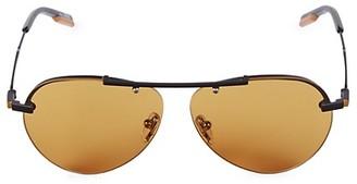 Ermenegildo Zegna 61MM Aviator Sunglasses