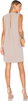 Vince Crepe Shift Dress